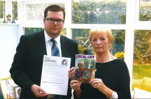 Conor McGinn MP supports campaign for Helen's Law